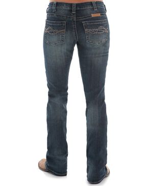 Cowgirl Tuff Women's Boot Cut Jeans, Indigo, hi-res