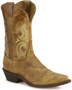 Justin Bent Rail Cowboy Boots - Pointed Toe, , hi-res