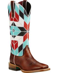 Ariat Mirada Caliche Cowgirl Boots - Square Toe, , hi-res
