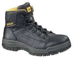 "Caterpillar Dimen High Top 6"" Lace-Up Duty Boots - Steel Toe, Black, hi-res"