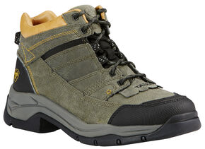 Ariat Men's Olive Terrain Pro Performance Boots , Olive, hi-res