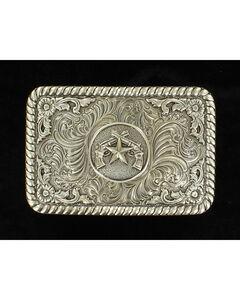 M&F Western Star and Pistol Belt Buckle, , hi-res