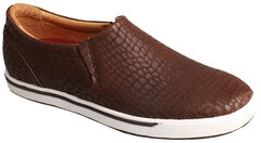 Twisted X Women's Brown Print Casual Slip-On Shoes , , hi-res