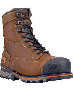 """Timberland Men's Brown PRO Boondock 8"""" Work Boots - Composite Toe , , hi-res"""