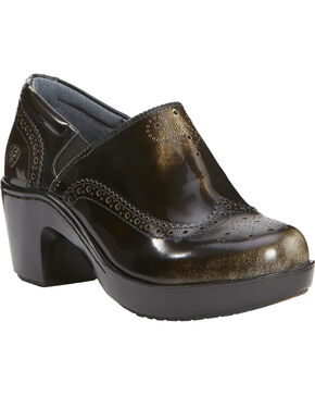 Ariat Women's Bradford Clogs, Black, hi-res
