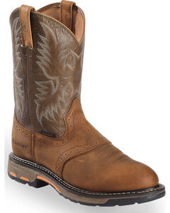 Ariat Workhog Pull-On Work Boots, , hi-res