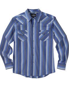 Garth Brooks Sevens by Cinch Blue Stripe Western Shirt , , hi-res