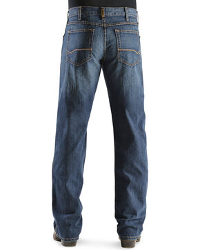 "Ariat Men's Heritage Denim Classic Fit Straight Leg Jeans - 38"" Inseam, Dark Stone, hi-res"