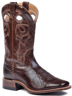 Boulet Stockman Cowboy Boots - Square Toe, , hi-res