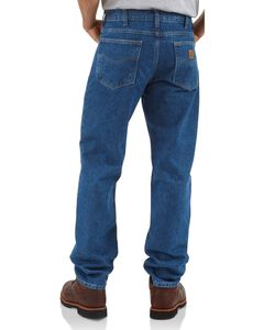 Carhartt Traditional Fit Tapered Leg Work Jeans, , hi-res