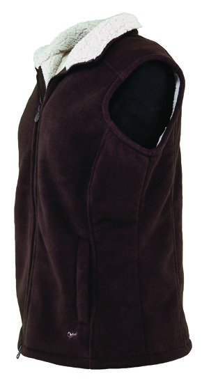 Outback Trading Company Women's Sky Vest, Brown, hi-res