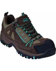 McRae Industrial Women's Lace-Up Hiker Work Boots - Composite Toe , , hi-res