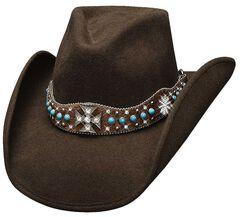 Bullhide In My Dreams Wool Cowgirl Hat, , hi-res