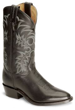 Tony Lama Black Stallion Americana Cowboy Boots - Medium Toe, , hi-res