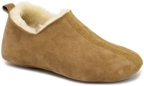 Dije California Women's Classic Softsole Crucis Slippers, Chestnut, hi-res