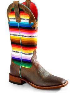 Macie Bean Lefty's Pancho Boots - Square Toe, , hi-res