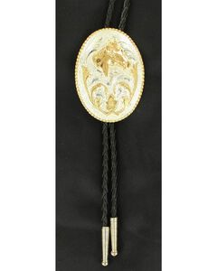 Oval Horse Head Bolo Tie, , hi-res