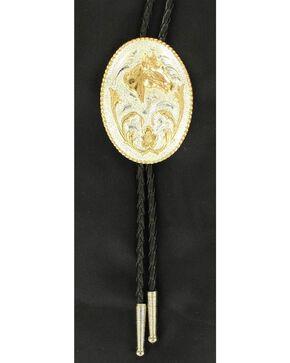 Oval Horse Head Bolo Tie, Multi, hi-res