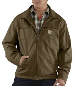 Carhartt Flint Jacket - Big & Tall, Brown, hi-res