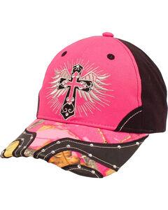 Blazin Roxx Women's Cross and Wings Cap, , hi-res