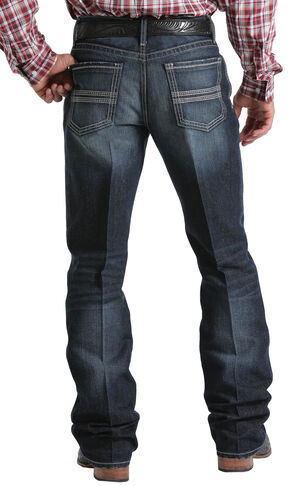 Cinch Men's Indigo Grant Mid-Rise Relaxed Fit Jeans - Boot Cut , Indigo, hi-res
