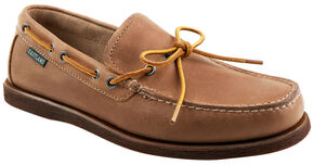Eastland Men's Natural Yarmouth Camp Moc Slip On , Natural, hi-res