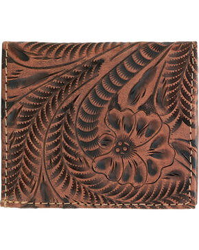 American West Pink Ladies' Bi-fold Wallet, Pink, hi-res