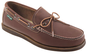 Eastland Men's Brown Yarmouth Camp Moc Slip On , Brown, hi-res