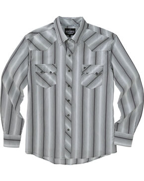 Garth Brooks Sevens by Cinch Black Stripe Western Shirt , Multi, hi-res