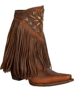 Lane Fringe It Cowgirl Boots - Snip Toe , , hi-res