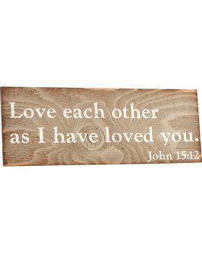BB Ranch John 15:12 Wall Decor , No Color, hi-res