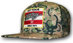HOOey Men's Camo Ziggy Trucker Hat  , , hi-res
