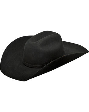 Ariat Boys' Wool Cowboy Hat , Black, hi-res