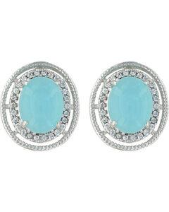 Montana Silversmiths Women's Haloed Summer Skies Earrings , , hi-res