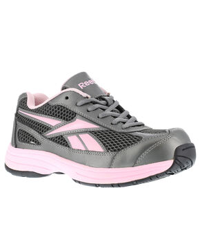 Reebok Women's Ketee Steel Toe Work Shoes, Black, hi-res