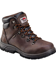 Avenger Men's Brown Waterproof Hiker EH Work Boots - Round Toe, , hi-res