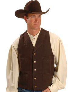 Rangewear by Scully Walnut Frontier Vest, , hi-res