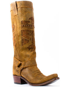 Junk Gypsy by Lane Honey She Who is Brave Cowgirl Boots - Snip Toe , , hi-res