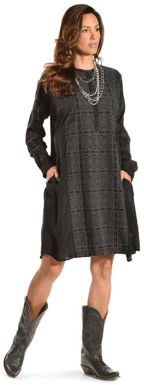 Johnny Was Women's Rikkala Pocket Dress, Black, hi-res