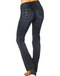 Silver Jeans Women's Suki Mid Slim Boot Cut Jeans  , , hi-res