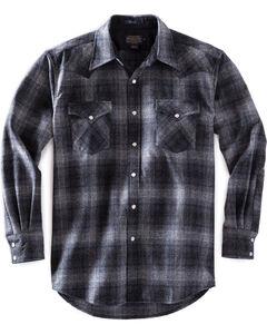 Pendleton Men's Charcoal Grey Canyon Plaid Shirt , , hi-res