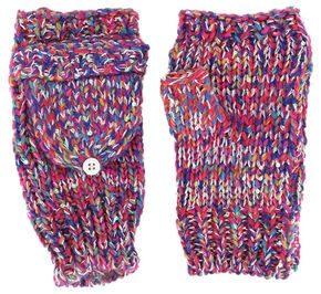 Shyanne Women's Space Dye Convertible Mitten Gloves, Multi, hi-res