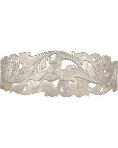 Montana Silversmiths Western Lace Open Filigree Bangle Bracelet, , hi-res