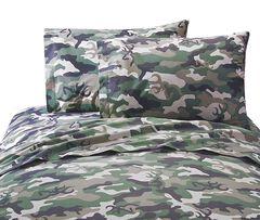 Browning Buckcamo Green Queen Sheet Set, , hi-res