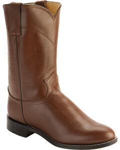 Justin Classic Roper Boots - Round Toe, , hi-res