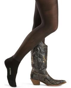 Ankle Sock Foot Bootights, Black, hi-res