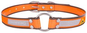 """Browning Orange Large Dog Collar - Large 18 - 28"""", Orange, hi-res"""