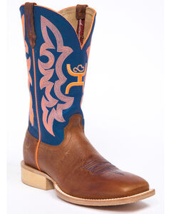 Hooey by Twisted X Neon Blue Cowgirl Boots - Wide Square Toe, , hi-res