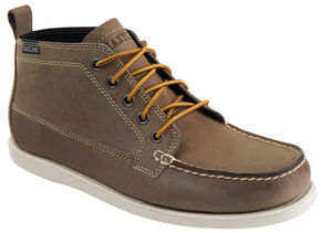 Eastland Men's Tan Seneca Camp Moc Chukka Boots, Tan, hi-res