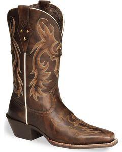 Ariat Legend Spirit Cross Cowgirl Boots - Square Toe, , hi-res